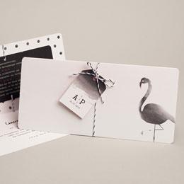 Karten Hochzeit Poetischer Flamingo