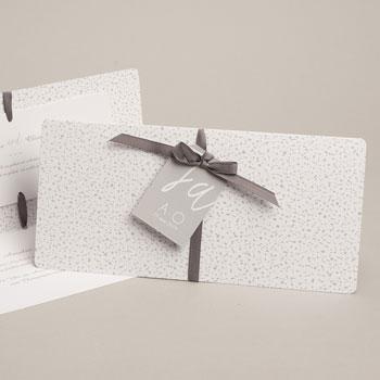 Klassische Hochzeitskarten  - Reduziert - 0