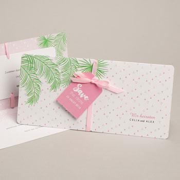 Einladungskarten Hochzeit  Exotic chic