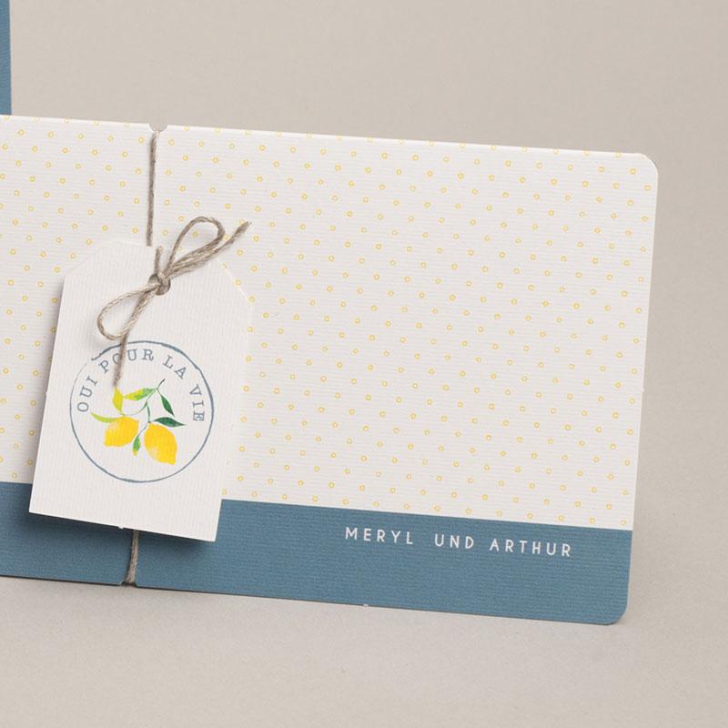 Hochzeitseinladungen Lemons pas cher