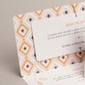 Einladungskarten Hochzeit  Boho Hippie gratuit