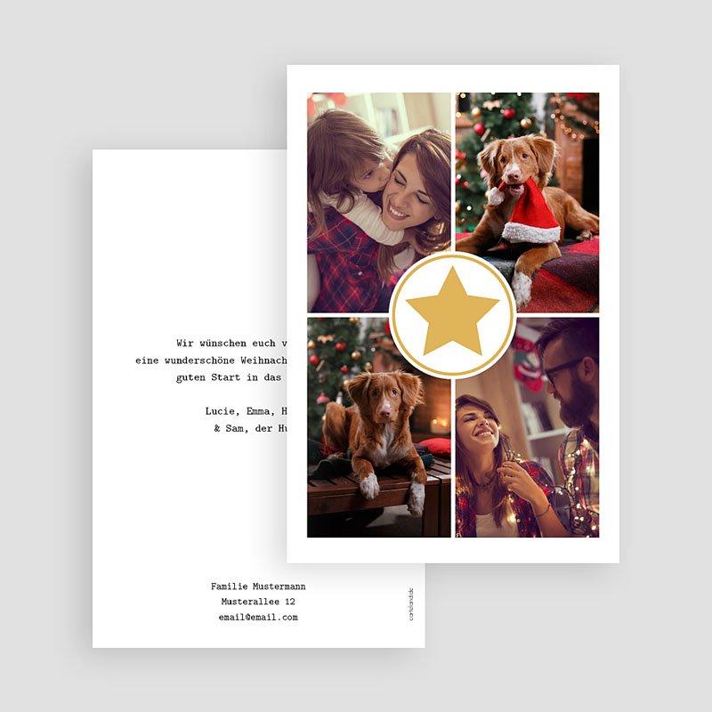 Weihnachtskarten Im Kreise der Familie gratuit