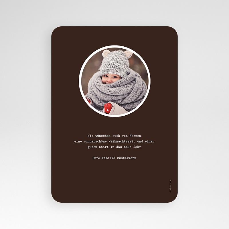 Weihnachtskarten Weihnachtshirsch pas cher