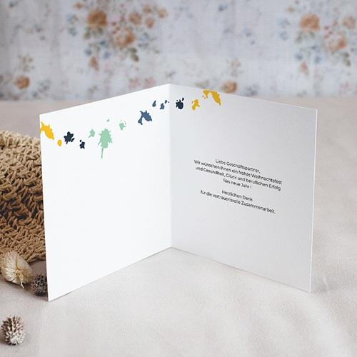 Weihnachtskarten Splash pas cher