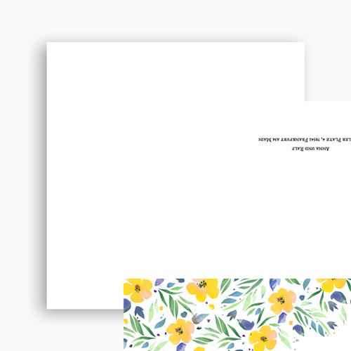 Rustikale Hochzeitseinladungen Sommerluft
