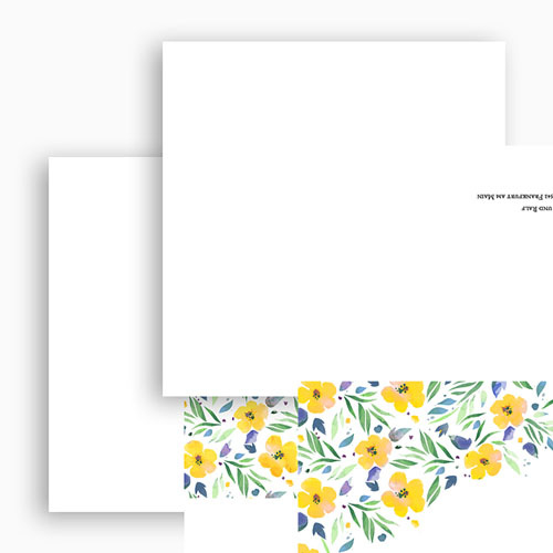 Rustikale Hochzeitseinladungen Sommerluft gratuit