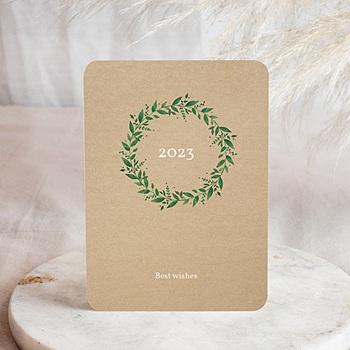 Weihnachtskarten - Natürlich vergoldet - 0