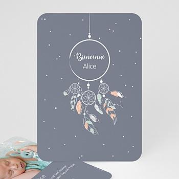 Geburtskarten für Mädchen - Dreamcatcher Vintage - 0