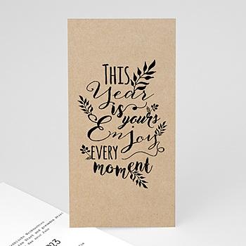 Weihnachtskarten - Kalligraphie - 0