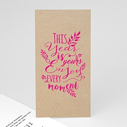 Voeux Pro Nouvel An Kalligraphie