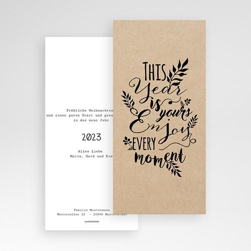 Weihnachtskarten - Kalligraphie 55220 preview