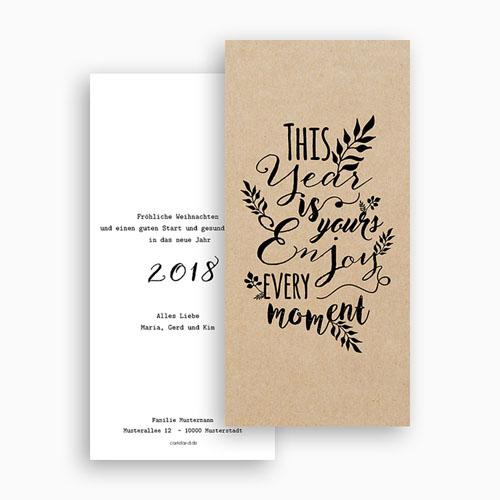 Weihnachtskarten - Kalligraphie 55221 preview