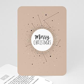 Weihnachtskarten - Sternenkonstellation - 0