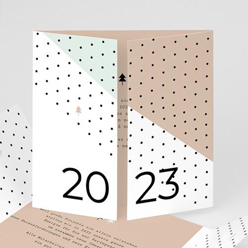 Weihnachtskarten - Geometrie 55264 test