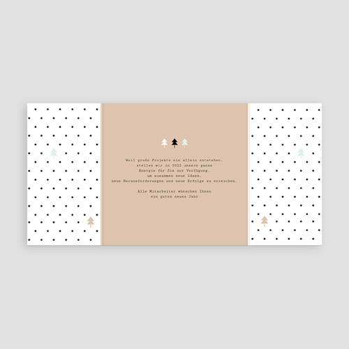 Weihnachtskarten - Geometrie 55265 test