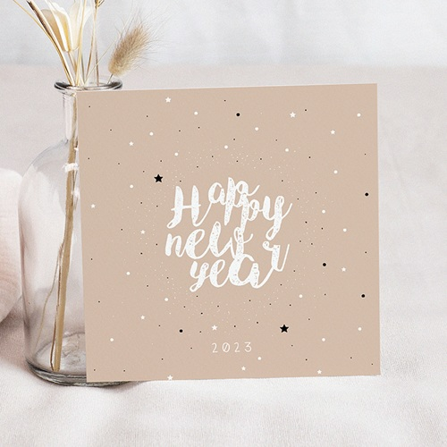 Weihnachtskarten Sternenmeer