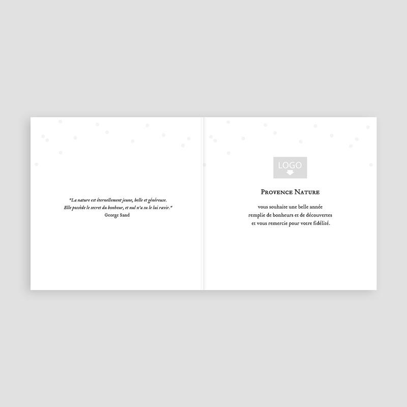 Geschäftliche Weihnachtskarten Waldzauber pas cher