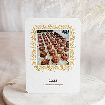Weihnachtskarten - Weihnachtsbäckerei - 0