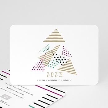 Weihnachtskarten - Modern Christmas Tree - 0