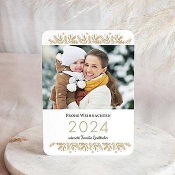Weihnachtskarten  - Golden Christmas - 0