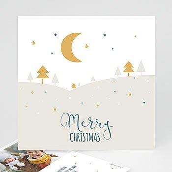 Weihnachtskarten - Friedliche Nacht - 0