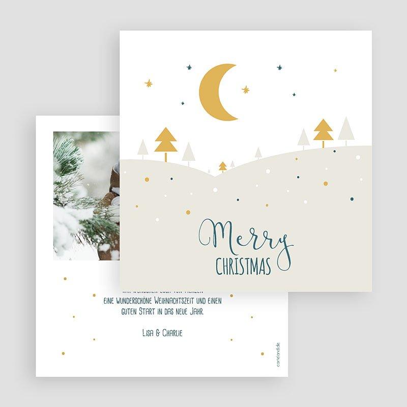 Weihnachtskarten - Friedliche Nacht 55410 thumb