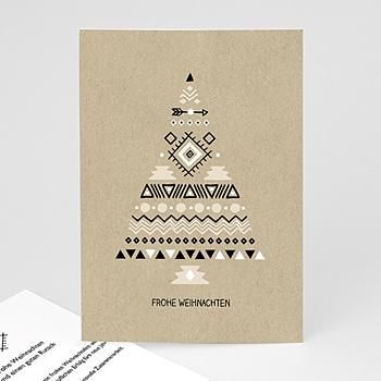 Weihnachtskarten - Christbaum - 0