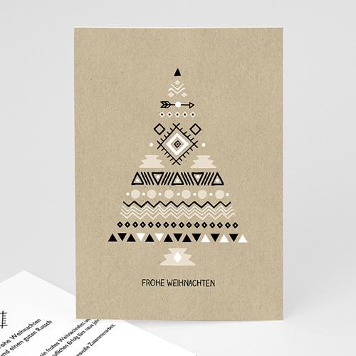 Weihnachtskarten - Christbaum 55417