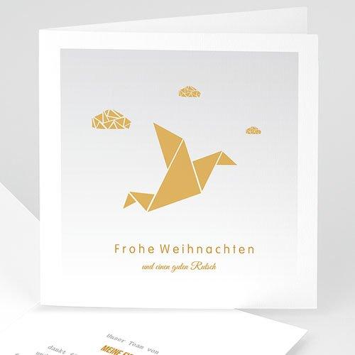Weihnachtskarten Origami.Weihnachtskarten Wolken Origami