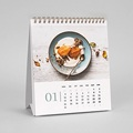 Werbekalender  Bürokalender + Logo