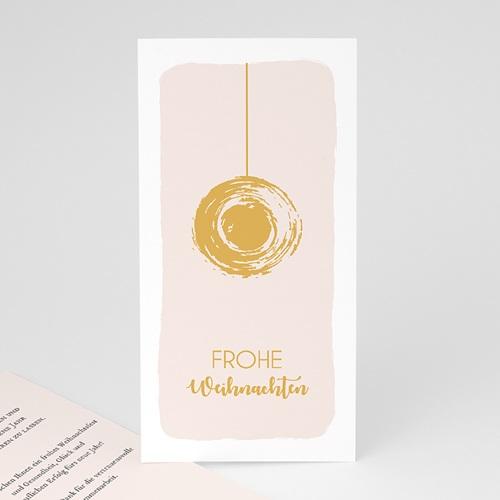 Weihnachtskarten - Christbaumkugel 55474
