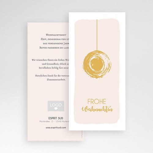 Weihnachtskarten - Christbaumkugel 55475 preview