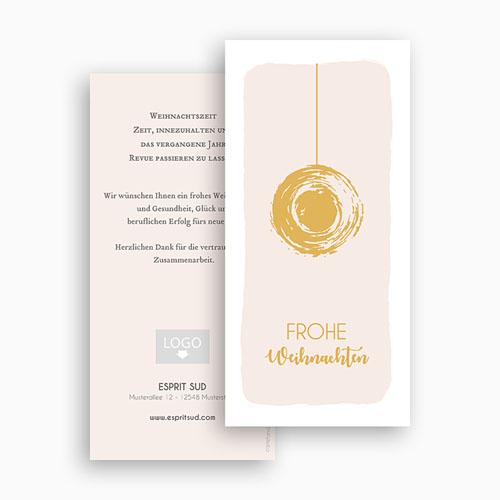 Weihnachtskarten - Christbaumkugel 55476 preview