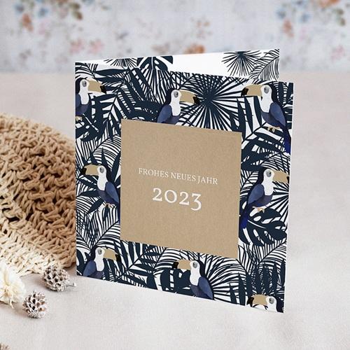 Weihnachtskarten - Goldtukane 55492 test
