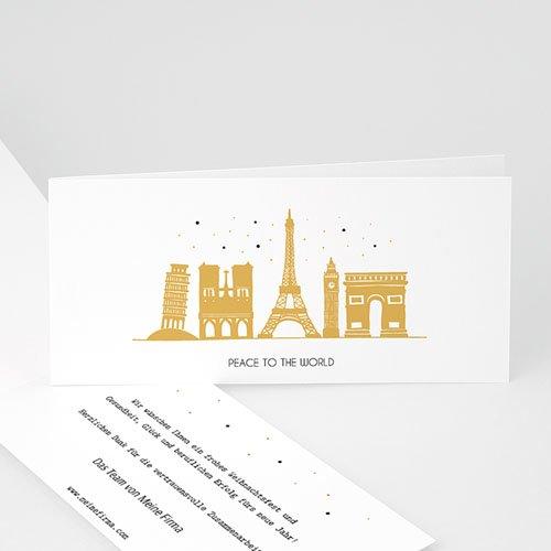 Weihnachtskarten - European Cities 55510
