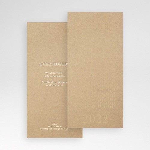 Weihnachtskarten - Goldregen 55537 test