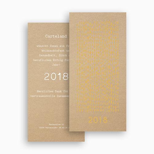 Weihnachtskarten - Goldregen 55538 preview