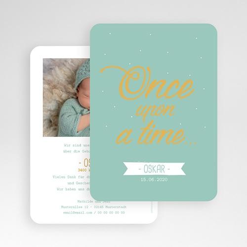 Geburtskarten für Jungen Once upon a boy gratuit
