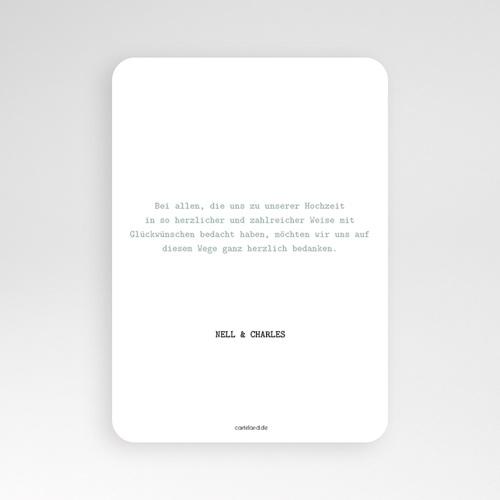 Kreative Dankeskarten Hochzeit  - Modern Dot 55660 test