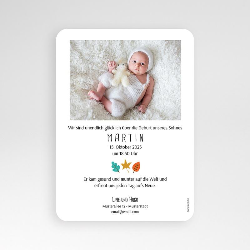 Geburtskarten für Jungen Kleines Erdhörnchen pas cher