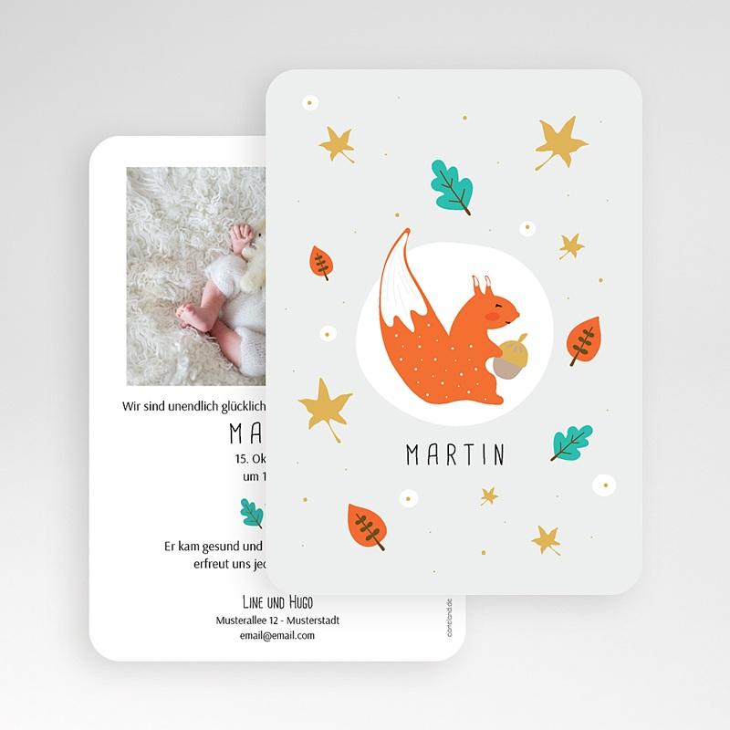 Geburtskarten für Jungen Kleines Erdhörnchen gratuit