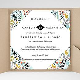Karten Hochzeit Wilde Blumen