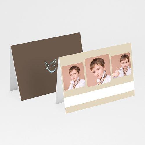 Tischkarten Kommunion - Schlicht 1 5599 thumb