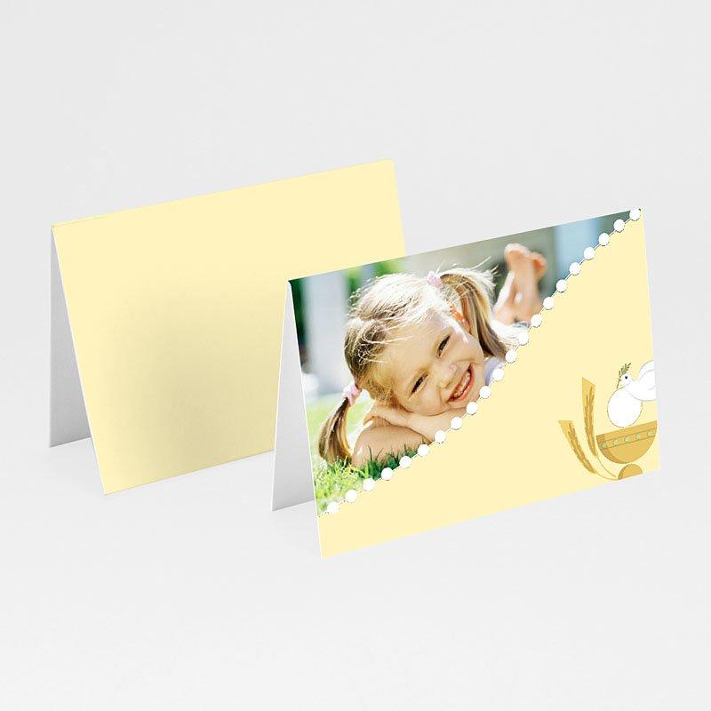 Tischkarten Kommunion - Kelch 5615 thumb