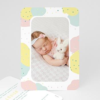 Geburtskarten für Mädchen - Passionsfrucht - 0