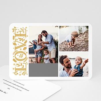 Weihnachtskarten - Love in Gold - 0