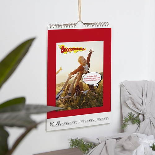 Wandkalender 2018 - Superhelden 56385 test