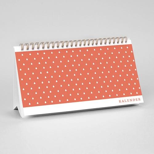 Tischkalender Minze & Koralle pas cher