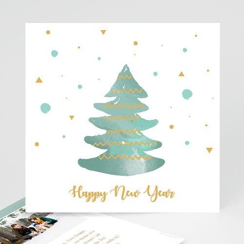 Weihnachtskarten Bilder.Weihnachtskarten Tannenbaum Schneeflocken
