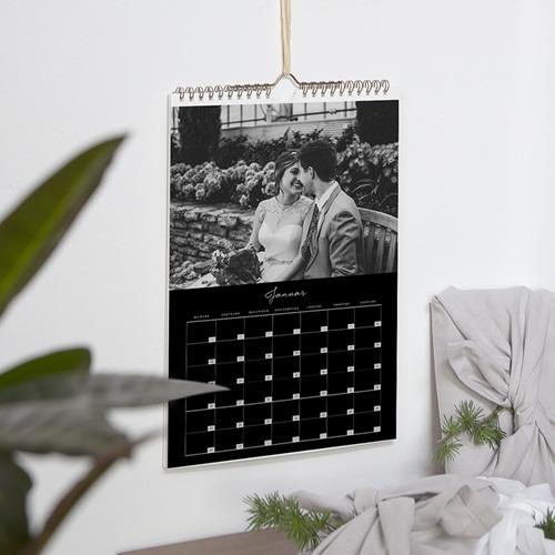 Wandkalender Schlichte Eleganz pas cher